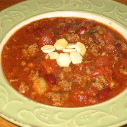 Frank's Spicy Alabama Onion Beer Chili Recipe