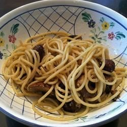 Linguine with Portobello Mushrooms Recipe