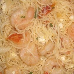 Feta Shrimp Pasta Recipe