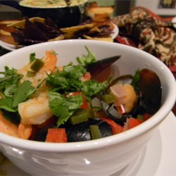 Drunked Mussles and Shrimp