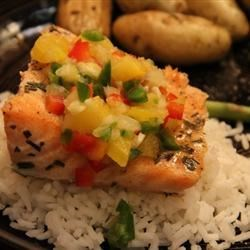 Photo of Salmon with Fruit Salsa by Tawnea