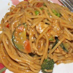 Pasta With Peanut Sauce Recipe