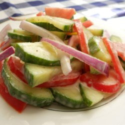 Refreshing Cucumber Salad Recipe