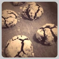 My take on a Choco crinkle recipe!