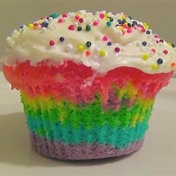 Rainbow Clown Cake Recipe