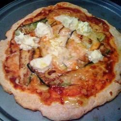 Photo of Mascarpone Zucchini Pizza by cdelemos
