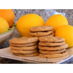 Photo of Lemon Refrigerator Cookies by Dessa  Black