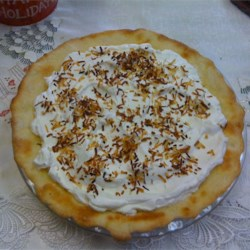 Truly Coconutty Cream Pie