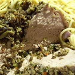 Photo of Italian Stuffed Pork Loin with Olive Relish by BANZAI