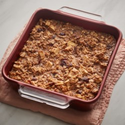 baked cranberry oatmeal printer friendly