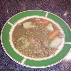 Sopa de Lentejas (Andalucian Lentil Soup)
