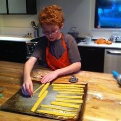 Making Cheese Straws