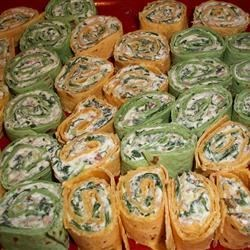 Spinach Roll-Ups Recipe