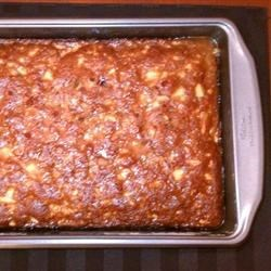 Photo of Apple Nut Cake with Rum Sauce by Ann