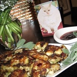 Cranberry-Sage Mini Crab Cakes
