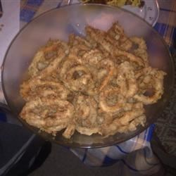 Buttermilk-Battered Calamari Recipe