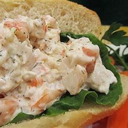 Dilled Shrimp Salad Recipe