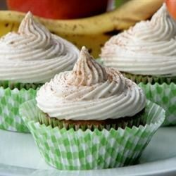 Apple Banana Cupcakes Recipe