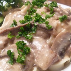 Rich and Creamy Beef Stroganoff
