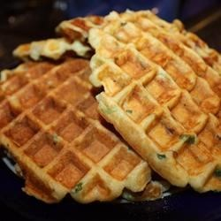 Photo of Steve's Loaded Potato Waffles by Steve Cowherd