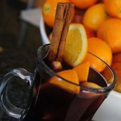 Hot Spiced Christmas Wine Recipe
