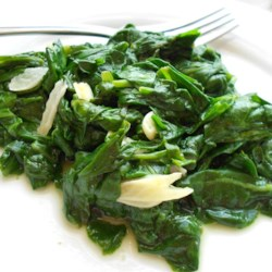 Garlic Spinach Recipe