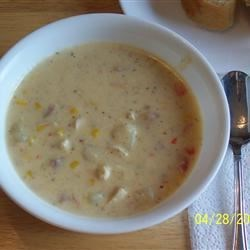 Harvest Corn Chicken Chowder