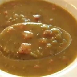 Ham and Split Pea Soup Recipe - A Great Soup Recipe