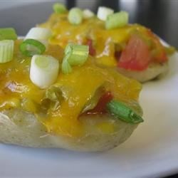 Suzy's Potato Skins Recipe