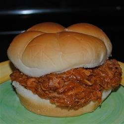 Meaty Barbeque Sandwiches Recipe