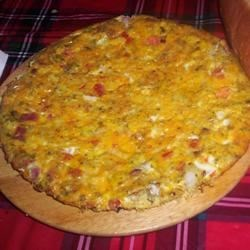 Baked Omelet Pie Recipe