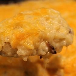 Green Chile and Rice Casserole Recipe