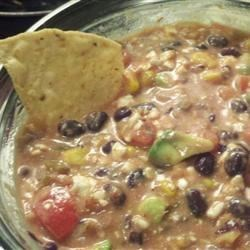 Cottage Cheese, Avocado, and Black Bean Salsa Recipe