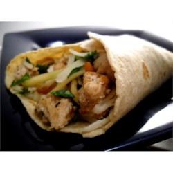 Photo of Teriyaki Turkey Burritos by Ellen  Munnik