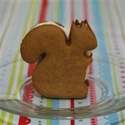 Squirrel Spice Sandwich Cookie