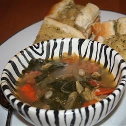 Kale Soup with Portuguese Sausage Recipe