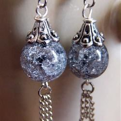Shattered Crystal Earrings