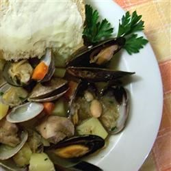 Photo of Portuguese Pork and Clams by Richard Tebaldi