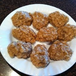 No-Bake Peanut Butter Cookies III Recipe