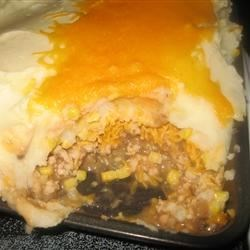 SHEPHERD'S PIE WITH GROUND TURKEY