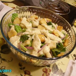 Ingrid's Caesar Salad Dressing Recipe