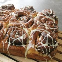 Overnight cinamon rolls