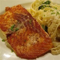 Photo of Easy Fried Salmon by Cookingagain!