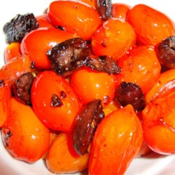 Cherry Tomatoes and Olives Recipe