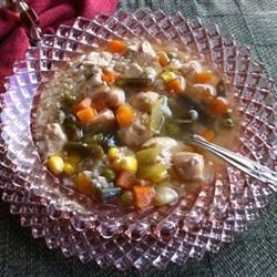 Photo of Chicken and Rice Soup II by CORWYNN DARKHOLME