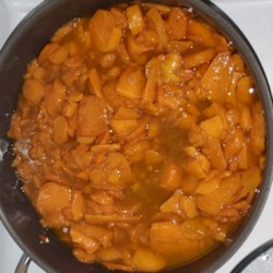 southern candied sweet potatoes printer friendly