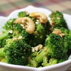 broccoli with garlic butter and cashews recipe photos