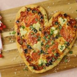 valentine pizza recipe photos