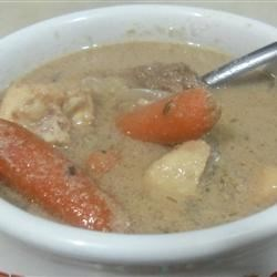 Deer Soup with Cream of Mushroom and Celery Recipe