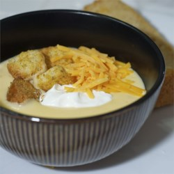 Baby Doe's Cheese Soup with Beer Recipe